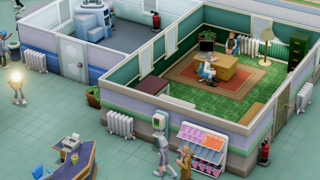 Two Point Hospital coming to us from Theme Hospital devs