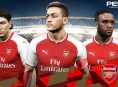 Arsenal are the latest team to get the PES 2018 treatment