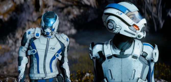 Watch some new Mass Effect: Andromeda gameplay